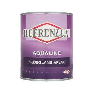 Heerenlux Zijdeglans Aflak Aqualine - 1000ml
